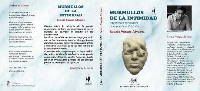 caratula ensayo poesia colombia